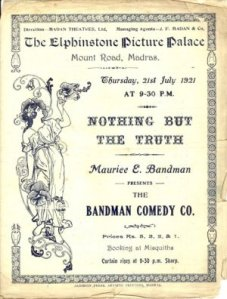Elphinstone Picture Palace Poster