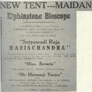 Harishchandra-film-poster-elphinstone-bioscope
