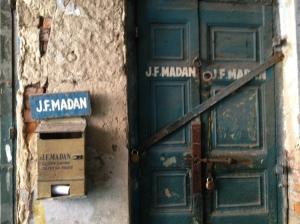 J F Madan property Daramtala Street, Calcutta