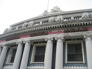 Elphinstone Picture Palace, Colombo. Image Courtesy: Dr Vilasnee Tampoe-Hautin