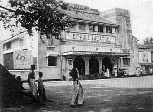 "Empire Theatre, Colombo around 1941. (Image courtesy: ""Robbie"" Robinson)"